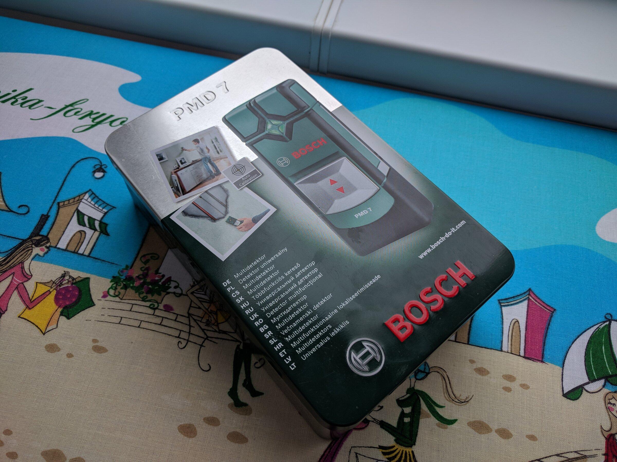 Экспертиза: детектор скрытой проводки Bosch PMD 7