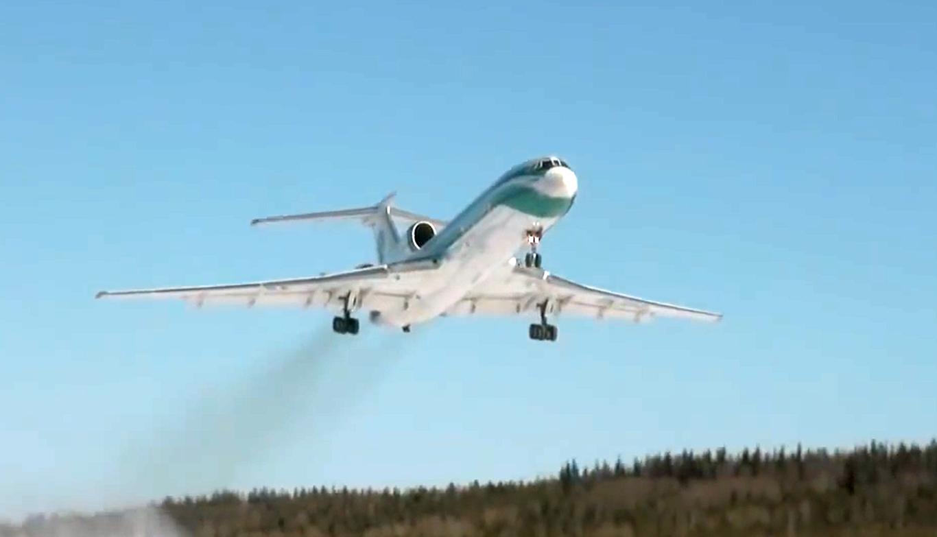 Правда о причинах аварийной посадки Ту-154 в Ижме