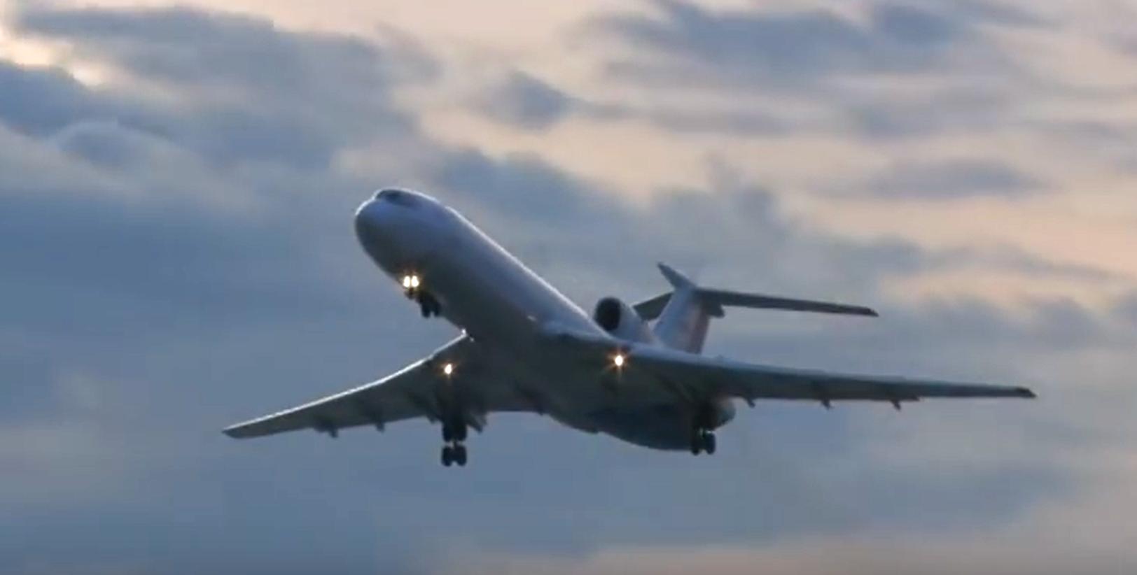 Эксперт об особенностях пилотирования самолёта Ту-154