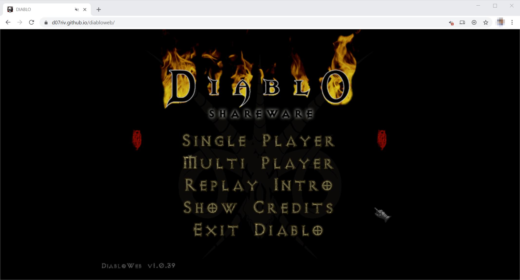 Первая Diablo: играем в браузере