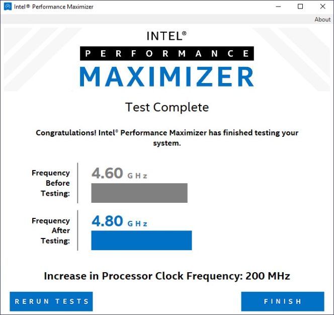 Автоматизированный разгон процессоров Intel