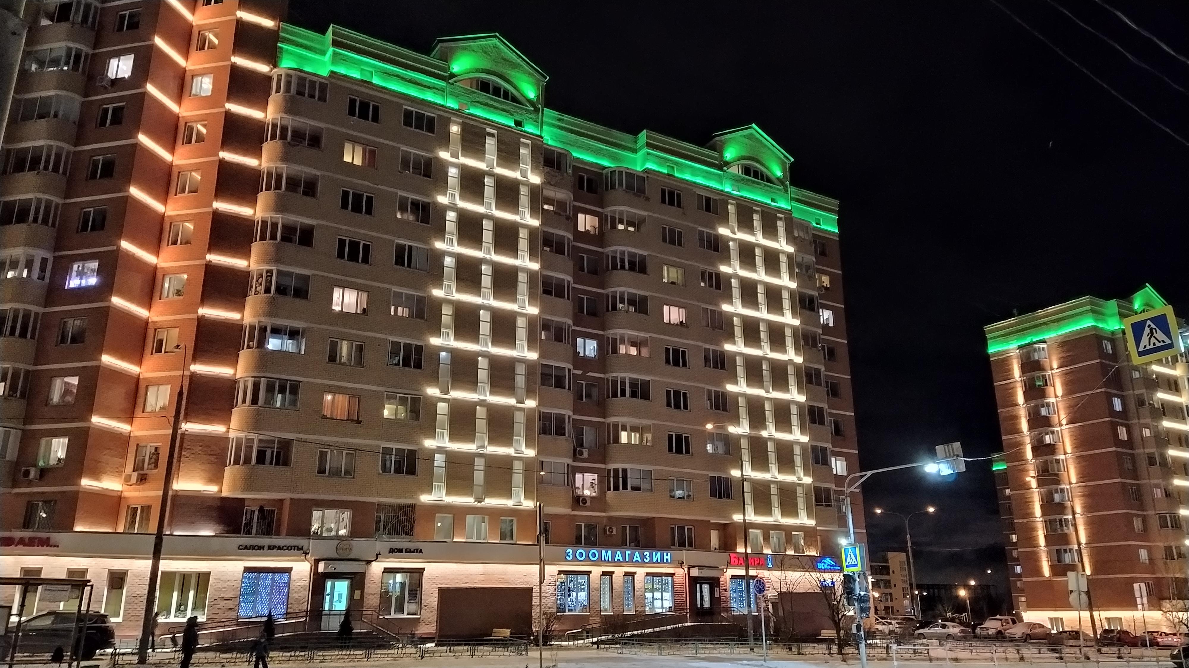Зачем нужна и что даёт подсветка фасадов зданий: мнение городских властей