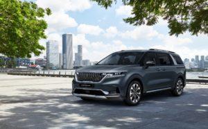 Kia Motors раскрыла облик минивэна Carnival четвёртого поколения