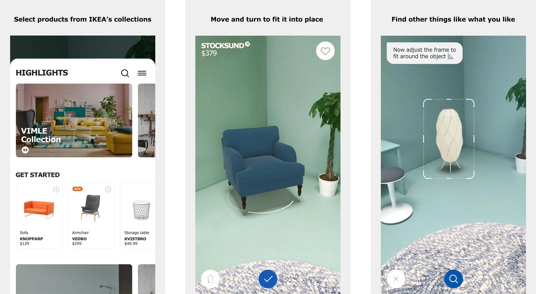 Как примерить предметы мебели из IKEA без посещения магазина