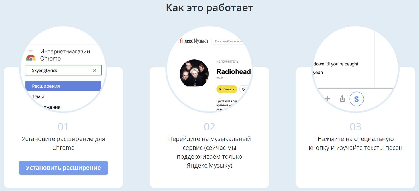 Контекстный перевод англоязычных композиций на Яндекс.Музыке