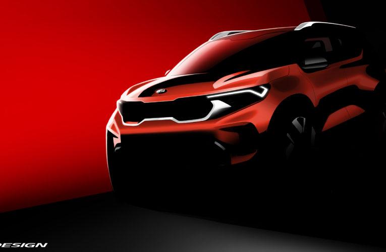 Kia Motors показала первое изображение субкомпактного кроссовера Sonet