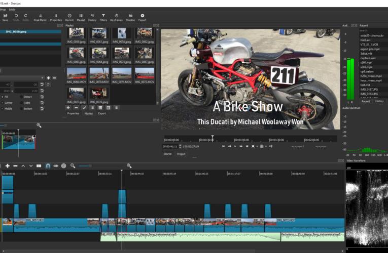 Shotcut — свободный видеоредактор для творческого самовыражения