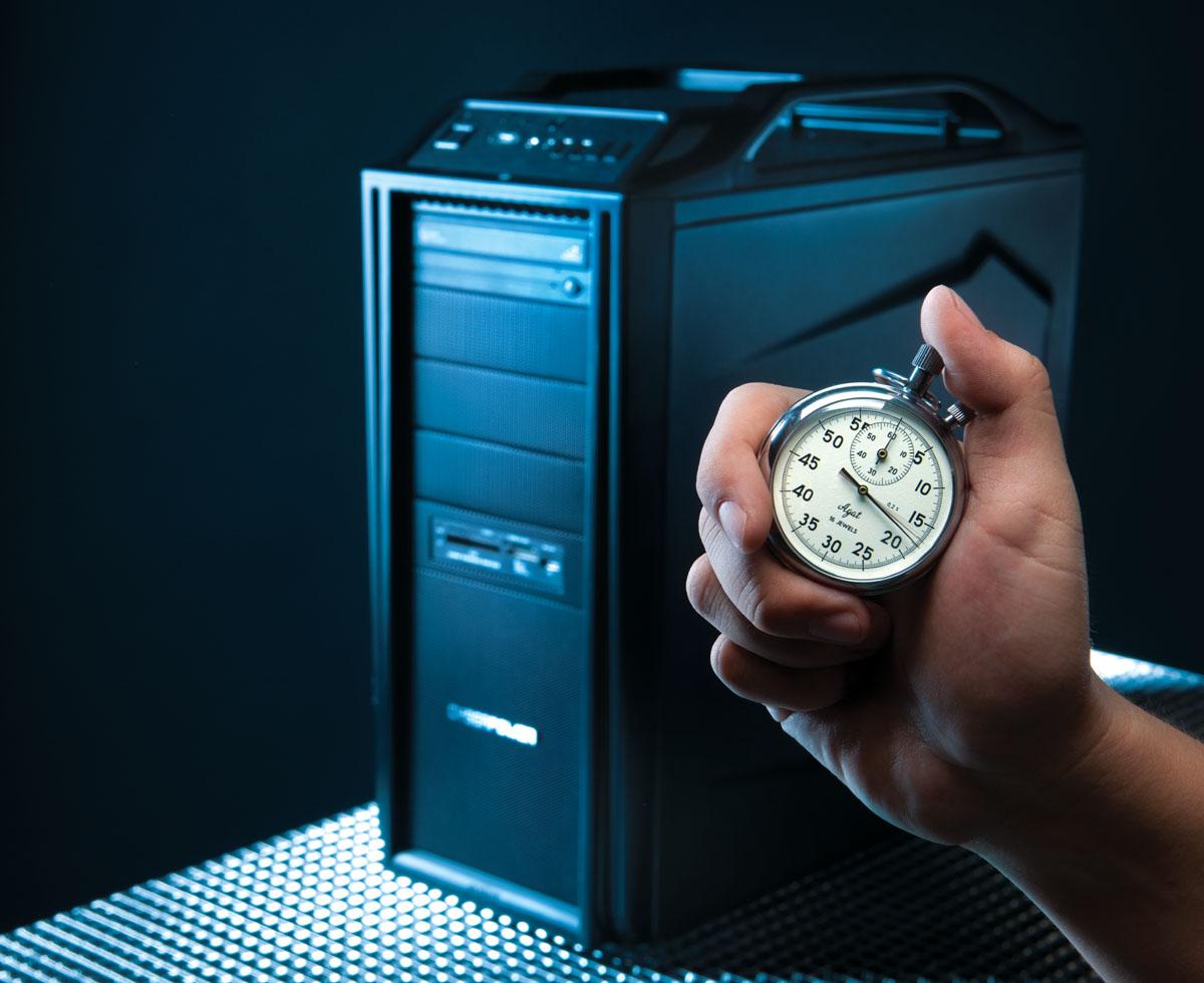 Измерение времени запуска программ в Windows